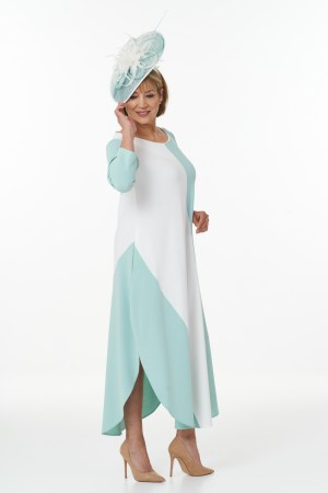 Mint and Ivory Flash dress