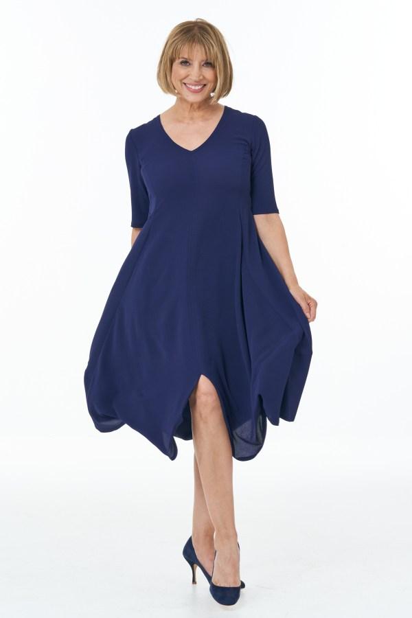 Navy Summer Bubble Dress