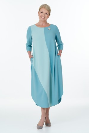 duck egg and mint Flash dress
