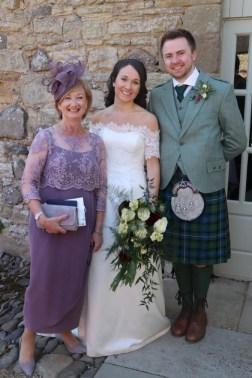 Sally and Ferguson Wedding with Joyce Young Mum Jennifer
