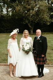 Laura and Gerry Wedding with Joyce Young Mother Karen