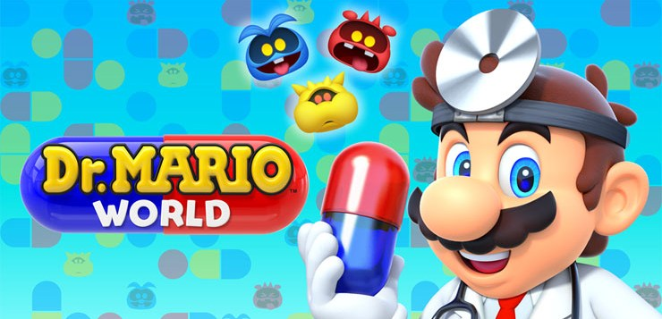 Dr. Mario World Arrives on iOS and Android Devices on July 10