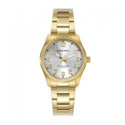 Reloj Viceroy dorado esfera champagne 300b2688c5d9