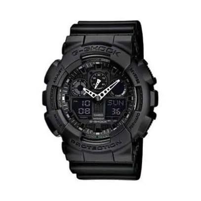 Reloj Casio GA-100-1A1ER de hombre NEW con caja y correa de resina G-Shock ana-digital