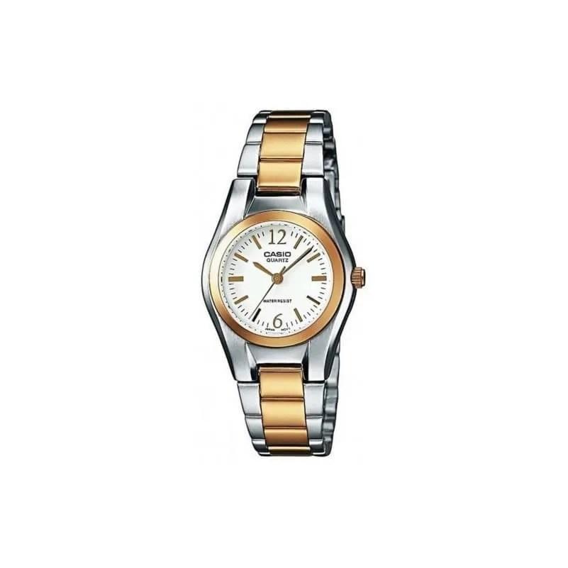 Reloj Casio LTP-1280PSG-9AEF de mujer con caja y brazalete de acero bicolor 61a3eb7357ee