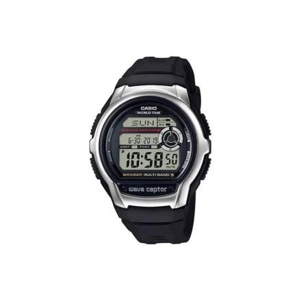Reloj Casio WV-M60-1AER de hombre NEW con caja y correa de resina negra Wave-Ceptor