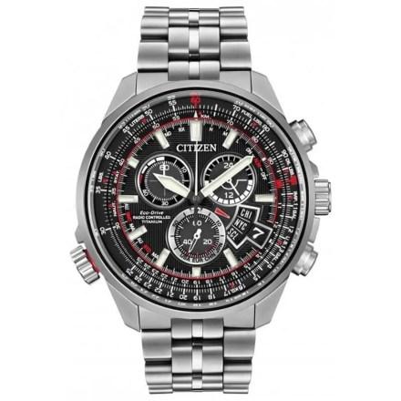 Reloj Citizen BY0120-54E de hombre NEW con caja y brazalete de titanio Eco-Drive Radio-Controlado 2015