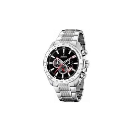 Reloj Festina F16488/5 de hombre NEW con caja y brazalete de acero Cronógrafo