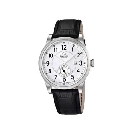 Reloj Jaguar J662/1 de hombre NEW con caja de acero y correa de piel analógico