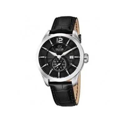 Reloj Jaguar J663/4 de hombre OFERTA con caja de acero y correa de piel negra