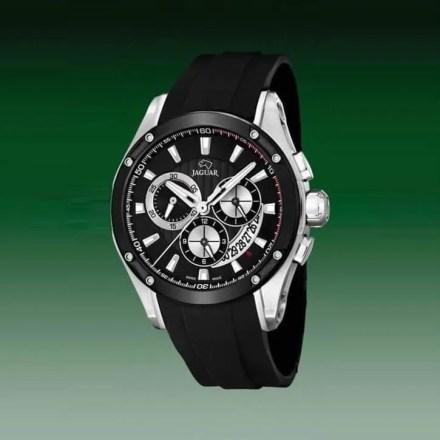 Reloj Jaguar J688/1 de hombre NEW con caja de acero ip black y correa de resina negra Special Edition