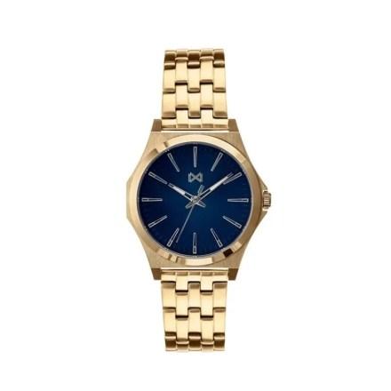 Reloj Mark Maddox HM7103-57 de hombre NEW con caja y brazalete de acero chapado colección Marina
