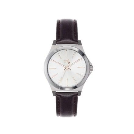 Reloj Mark Maddox MC7101-07 de mujer NEW con caja de acero y correa de piel colección Notting