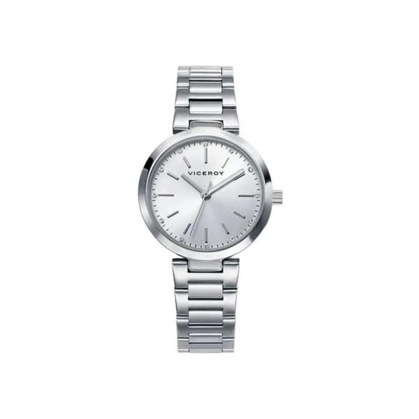 Reloj Viceroy 40864-85 de mujer NEW con caja y brazalete de acero inox analógico