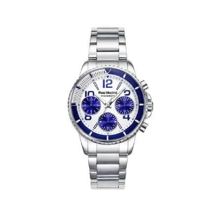 Reloj Viceroy 42300-07 de kadete NEW con caja y brazalete de acero Cronógrafo colección Real Madrid