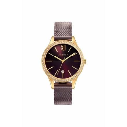 Reloj Viceroy 471100-43 de mujer NEW con caja de ip chapado y correa malla milanesa colección Chic