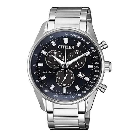 Reloj Citizen AT2390-82L de hombre NEW con caja y brazalete de acero Chrono Sport Eco-Drive