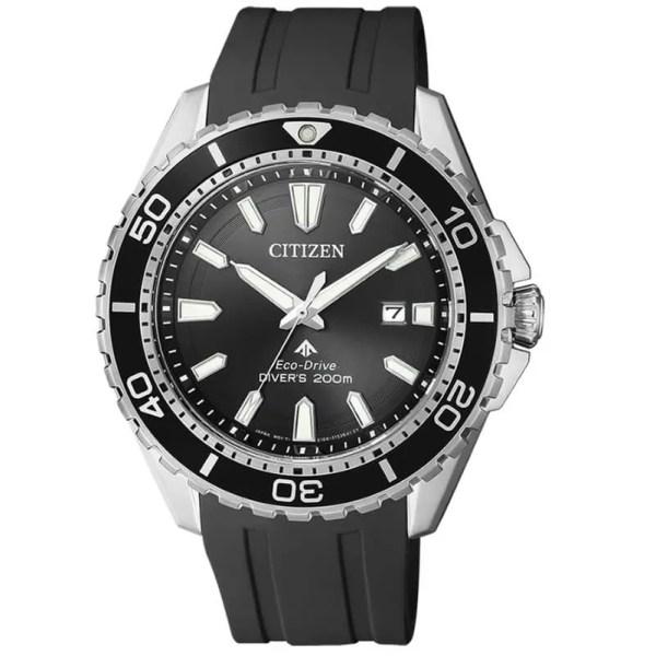 Reloj Citizen BN0190-15E de hombre NEW con caja de acero y correa de caucho colección Promaster Eco-Drive