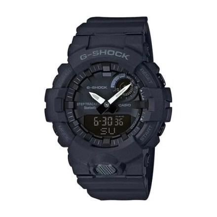 Reloj Casio GBA-800-1AER de hombre NEW con caja y correa de resina negra G-Shock Bluetooth