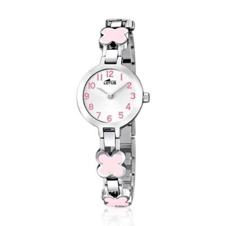 Reloj Lotus 15828/2 de niña NEW con caja y brazalete de acero modelo especial Comuniones