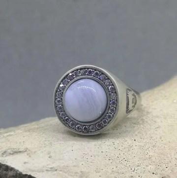 anillo de plata venta online joyería Zaragoza
