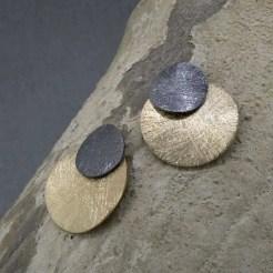 pendientes de plata de diseño