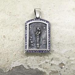 medalla virgen pilar en zaragoza