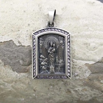 medalla virgen del pilar joyeria zaragoza