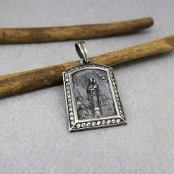 medalla virgen del pilar zaragoza