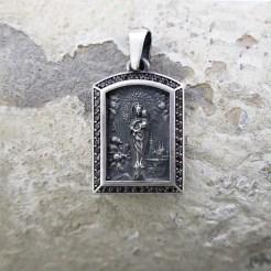 medalla Virgen del Pilar de plata
