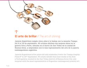 Revista Alta - Aerolíneas Argentinas - Septiembre 2013