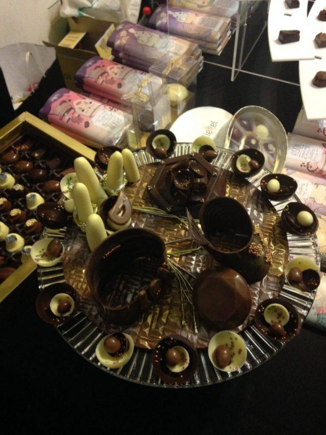 Figuraciones según Tiegel Chocolatier