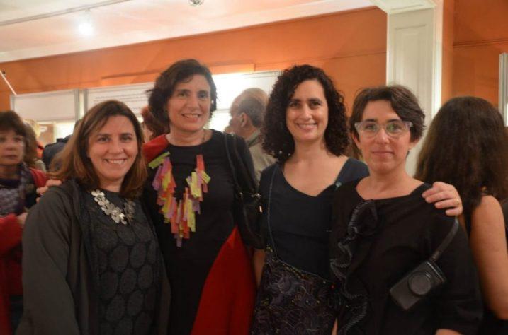Laura Russo, Paula Isola, Laura Giusti y Paula Zucker