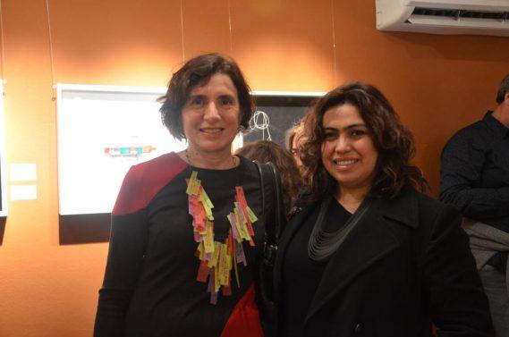 Paula Isola y Rita Soto