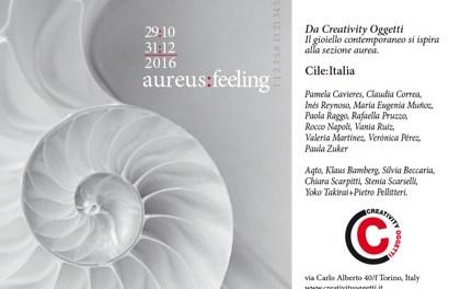 Aureus feeling, exposición de joyería contemporánea de Chile e Italia (Italia)