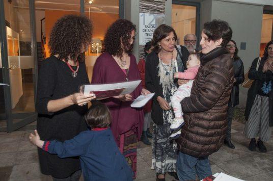 Felicitas Luna, Laura Giusti, Paula Isola, Maria Moscoso Carulla (por Nuria Carulla)