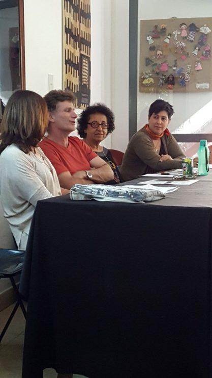 Segunda jornada: Colectivos moderado por Rafael Alvarez