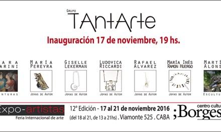 Tantarte, exposición con la participación de Rafael Alvarez y Ludovica Riccardi