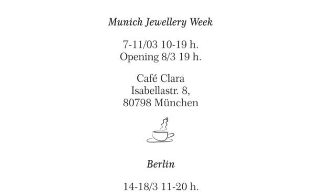 Ojalá en Munich 2017 y Berlín