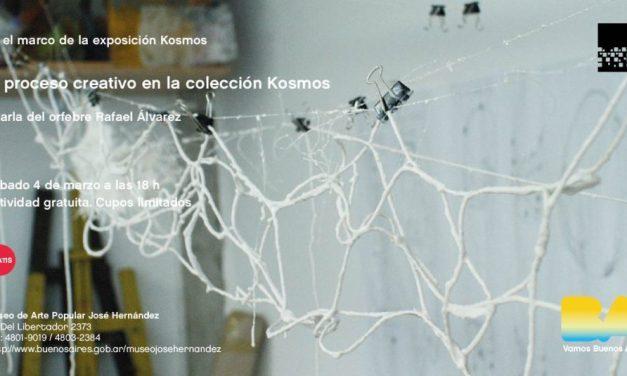 """Charla """"El proceso creativo en la colección 'Kosmos' """", a cargo de Rafael Alvarez"""