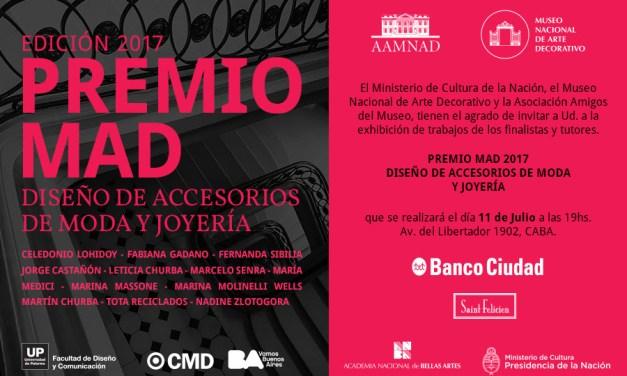 Inauguración Premio Mad 2017: Diseño de accesorios y joyería