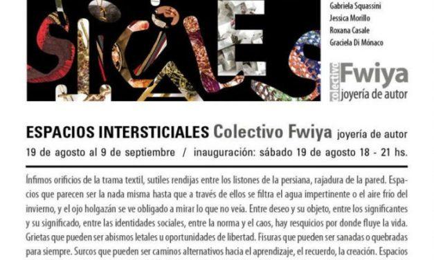 Hasta el 9 de septiembre: Espacios intersticiales, joyería contemporánea del grupo Fwiya en Galería Buenos Aires Sur