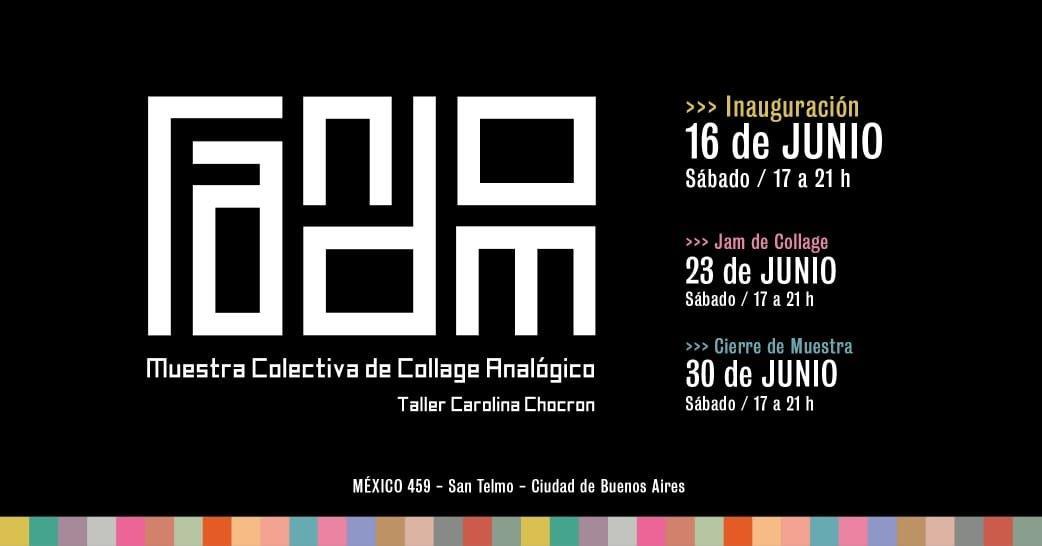 Alejandra Koreck expone collages en Buenos Aires y Berlín.