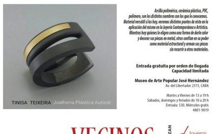 Bienal 2018: charla y demo «El polímero en la joyería contemporánea», por Sandra Pulgar