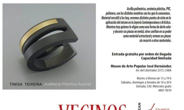 """Bienal 2018: charla y demo """"El polímero en la joyería contemporánea"""", por Sandra Pulgar"""