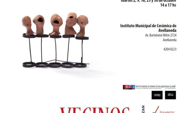 Bienal 2018: Taller de joyería en cerámica en el IMCA