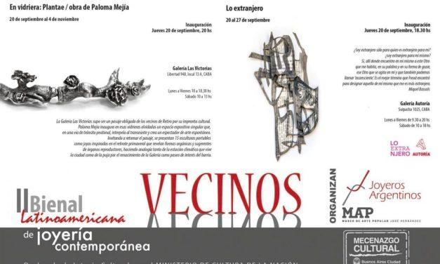 """Bienal 2018: hoy inauguran """"Lo extranjero"""" en Autoría y """"Plantae"""" en galería Las Victorias"""