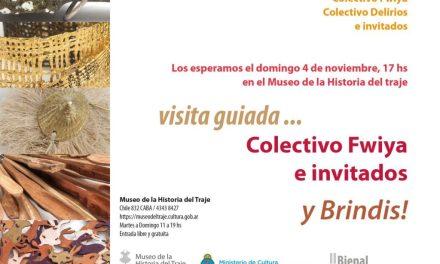 Bienal 2018: Brindis y visita guiada en el Museo del Traje
