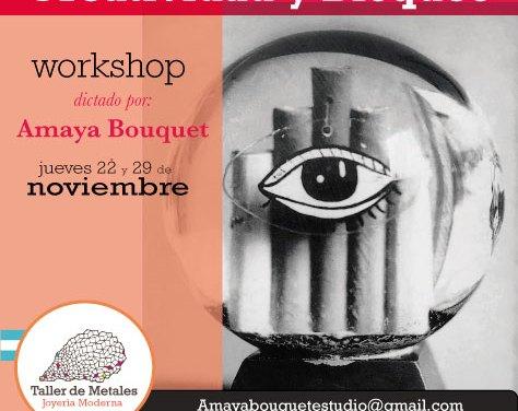Taller «Creatividad y bloqueo», a cargo de Amaya Bouquet