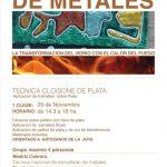 Curso de esmalte en metales – cloisonné de plata, a cargo de Beatriz Cabrera